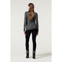 Supermom - Umstands-Shirt Print - grey melange