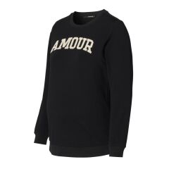 Supermom - Umstands-Sweater Amour - black