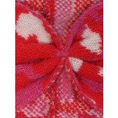 Zwillingsherz - Stirnband Lacey - leo/pink