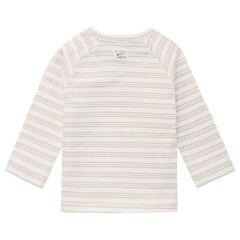Noppies Baby - Langarmshirt Rende - White sand