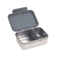 Lässig - Kinder Brotdose Edelstahl - Lunchbox, Safari Tiger