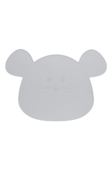 Lässig - Kinder Tischset - Placemat, Little Chums Mouse grey