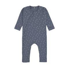 Lässig - Schlafanzug GOTS - triangle blue