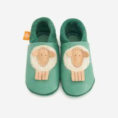Orangenkinder - Babyschuhe - Mähli das Schaf