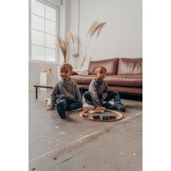 Orangenkinder - Filz Hausschuhe - Klassik Wolli