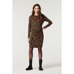 Supermom - Kleid Leopard - Toasted coconut
