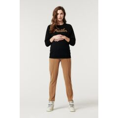 Supermom - Sweater Black Panther - black