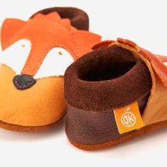 Orangenkinder - Babyschuhe - Franz der Fuchs