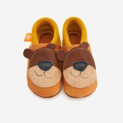 Orangenkinder - Babyschuhe - Bärnie der Honigbär
