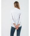 Attesa - Bluse Reverkragen - weiß