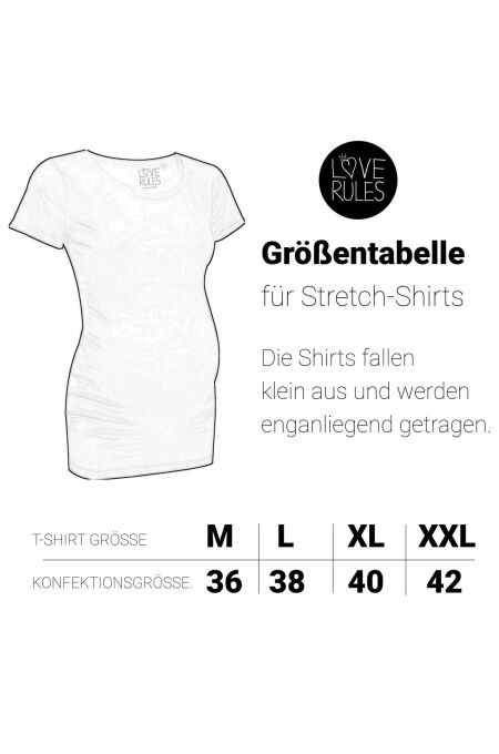 Klapperstorch Basic T-Shirt - weiss
