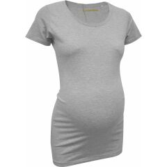 Klapperstorch Basic T-Shirt - grau meliert