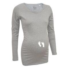 Love Rules - Langarm-Shirt LS - Babyfüße flex...