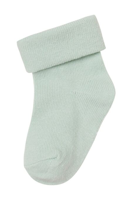 Babysocken - 2er-Pack - Zoe - stripe - grey mint 0-3-M