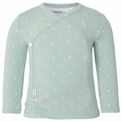 Baby-Shirt - Anne - grey mint
