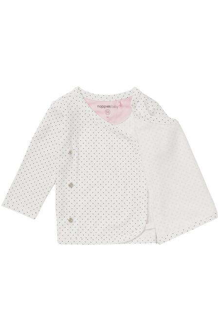 Baby Wickelshirt - Kim - all over print - white 62