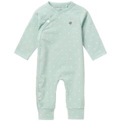 Noppies Babymode - Playsuit Lou - grey mint 50