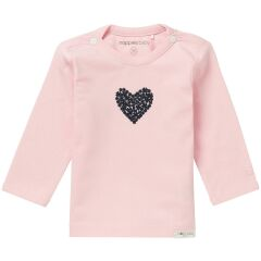 Noppies Babymode T-Shirt Natick - light rose 74
