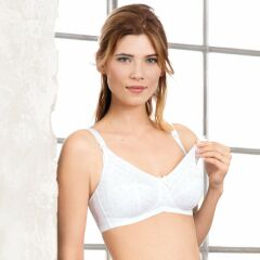 Anita Miss Cotton Still BH - pearl white