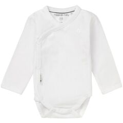Noppies Baby - Body in langarm - Romper Is Ziara - weiß   56