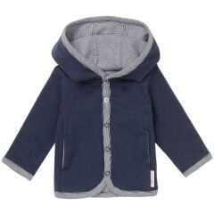 Noppies Baby -  jersey Babyjacke - Joke - navy