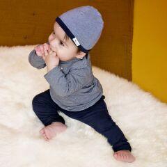Noppies Baby - Babymütze zum Wenden - Jandino - navy
